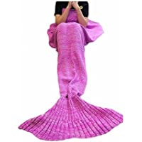 FYHAP Mermaid Blanket, Mermaid Tail Blanket Soft All...