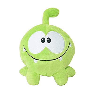 "New Green Frog Kawaii 7"" 20cm om nom Frog Plush Stuffed Toys Cut The Rope Soft Rubber Cut The Rope Figure Toy Gift for Kids: Clothing"