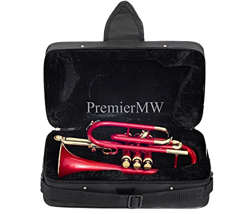 PREMIER MW P-CO1, CORNET Bb PITCH, RED LACQUER by PREMIER MW