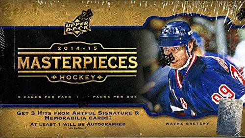 2014/15 Upper Deck Masterpieces Hockey Hobby Box (Sealed) 14/15 (Deck Masterpieces Upper)