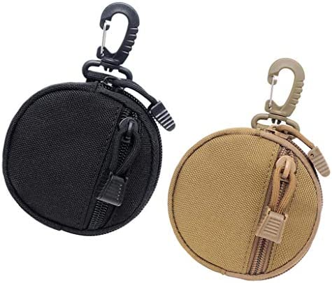MagiDeal Monedero para Auriculares Funda para Llaves Molle Gadget Pouch T/áctil Accessory Bag