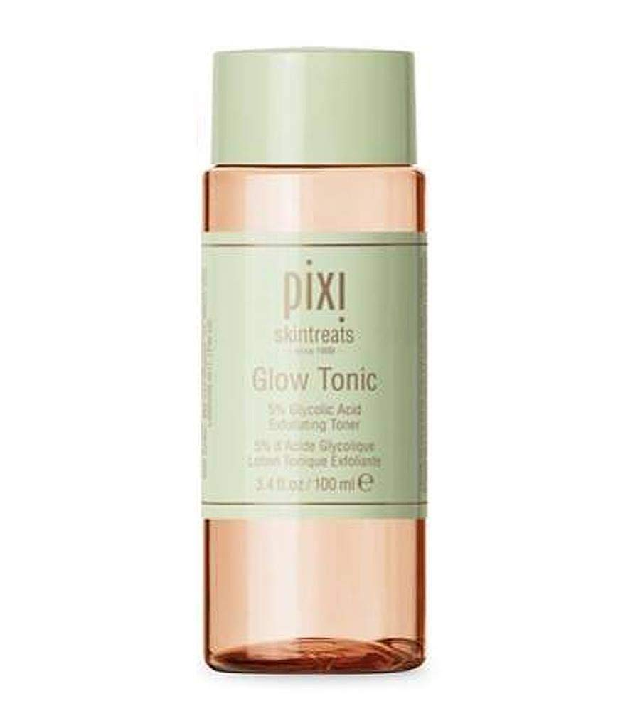 Pixi Beauty Skintreats Glow Tonic Exfoliating Toner For All Skin Types 3.4 Ounces 100 Milliliter