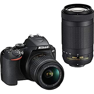Nikon D3500 DX-Format DSLR Two Lens Kit with AF-P DX Nikkor 18-55mm f/3.5-5.6G VR & AF-P DX Nikkor 70-300mm f/4.5-6.3G… 6