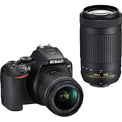 Nikon D3500 DX-Format DSLR Two Lens Kit with AF-P DX Nikkor 18-55mm f/3.5-5.6G VR & AF-P DX Nikkor 70-300mm f/4.5-6.3G… 1