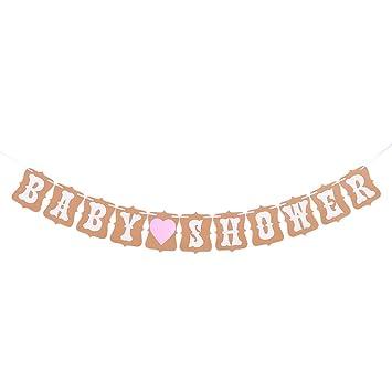 Unho Bandera Bebe Guirnalda Bunting Decoracion De Baby Shower Banner