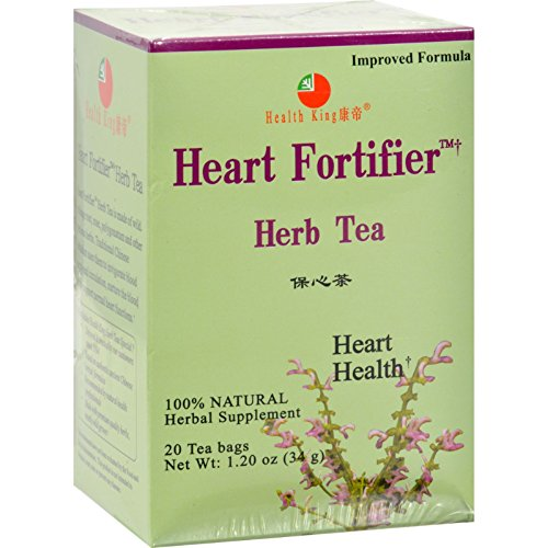 Health King Medicinal Teas Heart Fortifier Herb Tea - 20 Tea (Heart Fortifier Herb Tea)