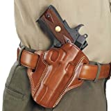Galco Combat Master Belt Holster for Ruger SP101 2 1/4-Inch (Tan, Right-Hand)