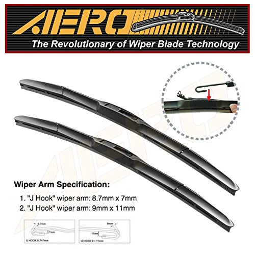 OEM-QUALITY-24-20-AERO-Premium-All-Season-Windshield-Wiper-Blades-Set-of-2