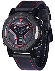KOSSFER Mens Military Sport Wrist Watch Quartz Dual Movement with Analog-Digital Display Watches Big Face Sports...