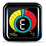 RockJam WeTune - A Clip-On Tuner for all instruments - Guitar, Bass, Ukulele, Violin & Chromatic Tuning Modes