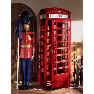 Design Toscano Authentic Replica British Telephone Booth