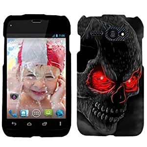 Kyocera Event Red Eye Skull Hard Case Phone Cover