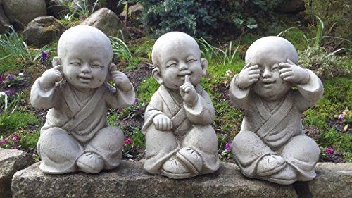 nichts sagen nichts hören Steinfigur Mönche buddhas buddha nichts sehen