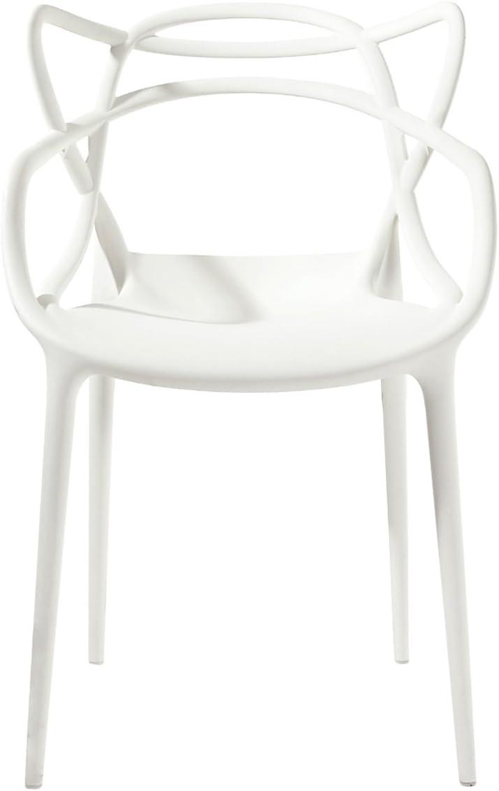 Kartell 586603 Stuhl Masters, weiß: : Küche