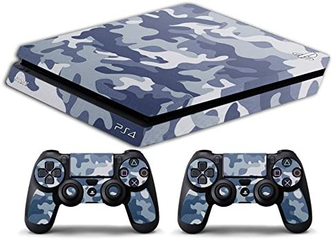 Skin PS4 SLIM HD - CAMUFLAJE ARCTICO - limited edition DECAL COVER ...