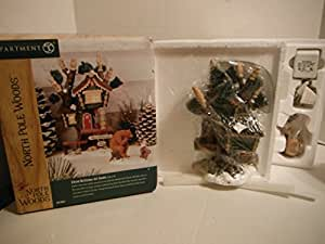 Department 56 North Pole Woods Gone Fishing