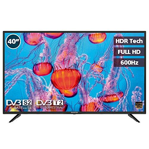INFINITON ELECTRONICS TELEVISOR 40″ 40M503 Full HD 500HZ USB Hotel USB Clonador DVBS2 DVBT2 3HDMI