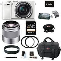 Sony Alpha a6000 (ILCE6000LW ILCE-6000LW ILCE6000L/W) Interchangeable Lens Ca...