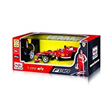 Maisto R/C Ferrari F138 F1 Formula Race Car Diecast Vehicle, Scale 1:24