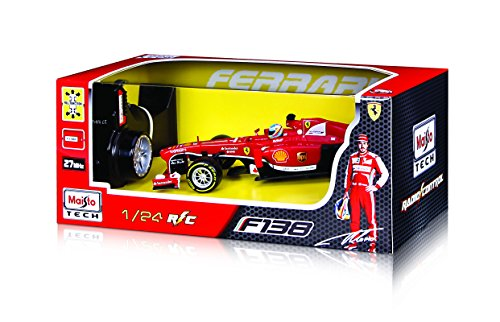 Maisto R/C 1:24 Scale Ferrari F138 Radio Control Vehicle (Colors May Vary) ()