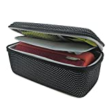 co2CREA Black EVA Semi-hard Storage Travel Case Carry Bag Protective Skin for Logitech Ultimate Ears UE BOOM 1 and 2 (I/II Gen) Wireless Bluetooth Speaker (Storage Case)