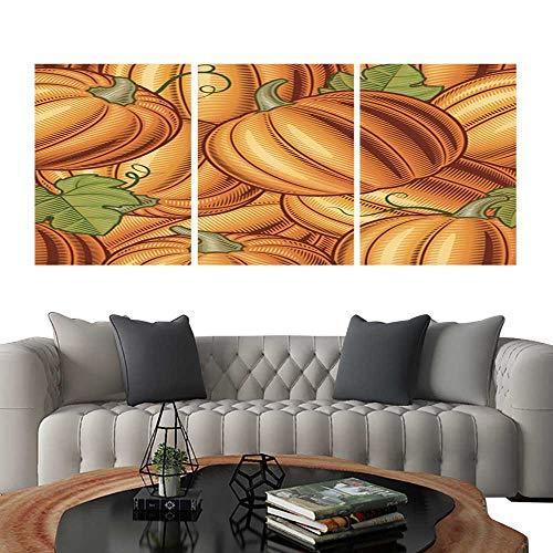 UHOO Prints Wall Art PaintingsSeamless Pumpkin Background. Customizable Wall Stickers 20