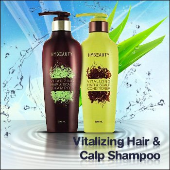 1 Set of Hybeauty Vitalizing Hair & Scalp Shampoo & Conditioner by Thai Massage