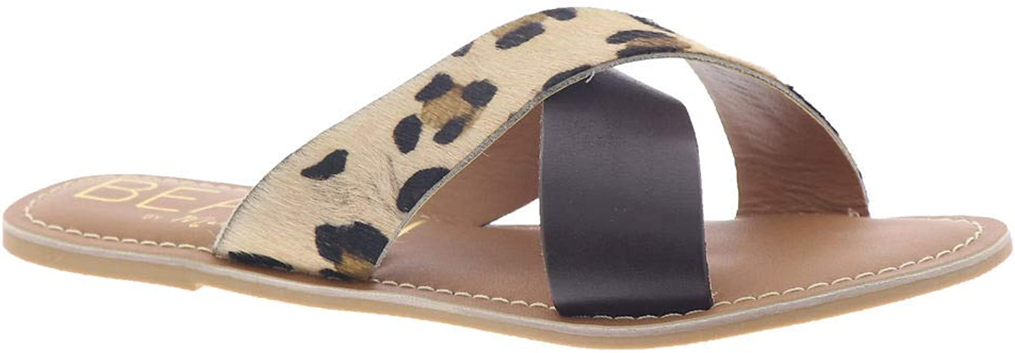 Coconuts Womens Pebble Leather Open Toe