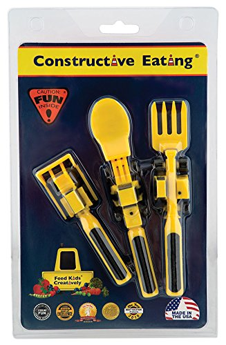 Constructive Eating - Set of Construction Utensils