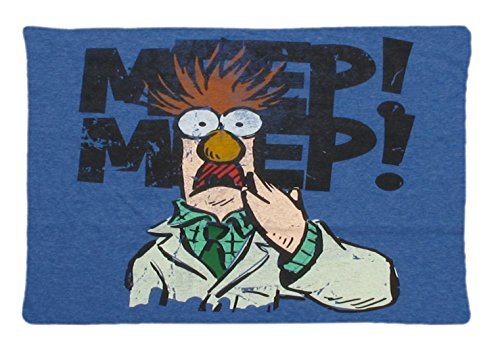 Funny Beaker Muppets Meme Custom Pillowcase Rectangle Pillow Cases 20x30 Inches (one side) (Beaker From Muppets)