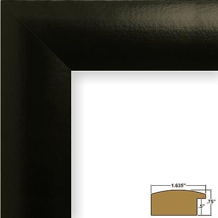 Amazon Craig Frames Contemporary Wide 3 By 5 Inch Black Satin