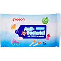 Pigeon Anti Bacterial Wipes, 20 Count (PWK869)