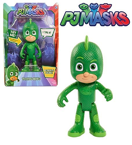Just Play PJ Masks - TALKING GEKKO FIGURE 6 inch - Poseable Action Figure