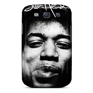Awesome Jimi Hendrix Flip Case With Fashion Design For Galaxy S3