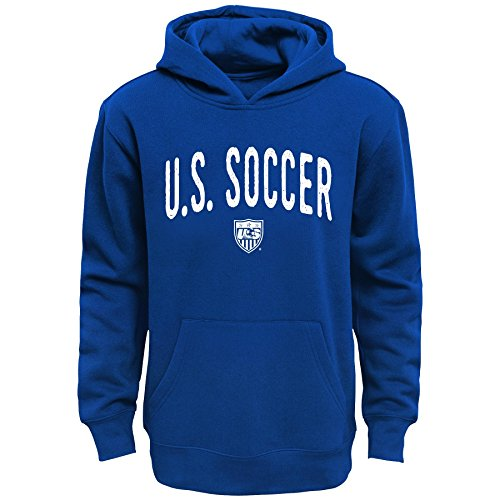 """World Cup Soccer United States Boys """"Arch Original"""" Fleece Hoodie, X-Large (18), Navy"""