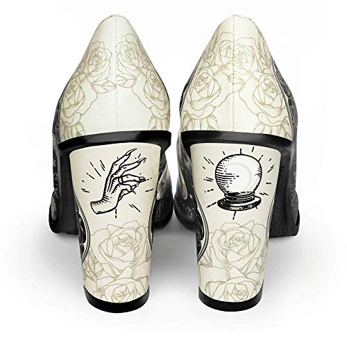 Talons Pour Multicolore Jane Femmes Escarpins Design Hot Chocolaticas Ballerines Chocolate Esoteric Hauts Mary Y7Hqnvw0g