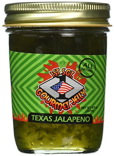 1St Sgt Jellies Texas Jalapeno Jelly - Jalapeno Jelly