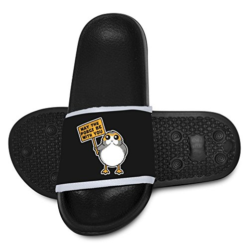 AolaZW Kids' May The Porgs Be With You Beach Sandal for sale  Delivered anywhere in USA