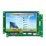 4.3 inches TFT Stone Brand touch screen STVI043WT-01 with CPU and UART All Technical Date in U Disk for Mechanial use