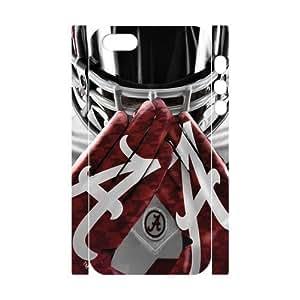Princess Belle Custom Extraordinary Best Design NCAA Alabama Crimson Tide Team Symbol Plastic Case Cover for iPhone5c iPhone5c