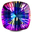 5.00 ct (Each stone weight) Cushion Shape (10 x 10 mm) Natural Mystic Blue Topaz Loose Gemstone