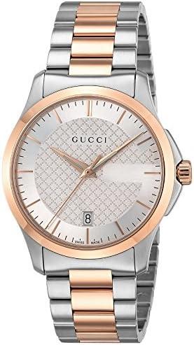 腕時計 Gタイムレス シルバー文字盤 YA126473 メンズ 並行輸入品 シルバー