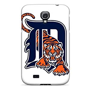 Saraumes Scratch-free Phone Case For Galaxy S4- Retail Packaging - Detroit Tigers
