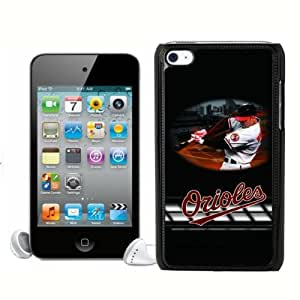Popular MLB Baltimore Orioles Ipod Touch 4 Case Cover For MLB Fans By zeroCase