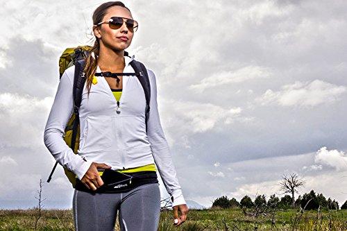 FlipBelt Running & Fitness Workout Belt, Black, X-Small 22''-25'' by Level Terrain (Image #3)