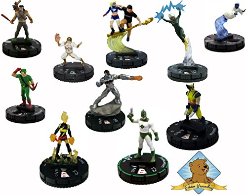 60 Random Superhero Miniature Figures! By Golden Groundhog