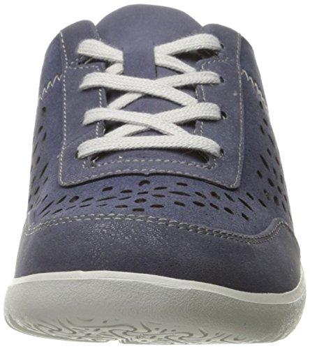 Rockport Kvinders Emalyn Slips Mode Sneaker Blå rKpls