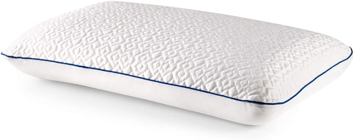 Revel CustomFeel Reversible Memory Foam Pillow with Dual Cooling Action (King), Made in the USA with a 5-Year Warranty, Amazon Exclusive