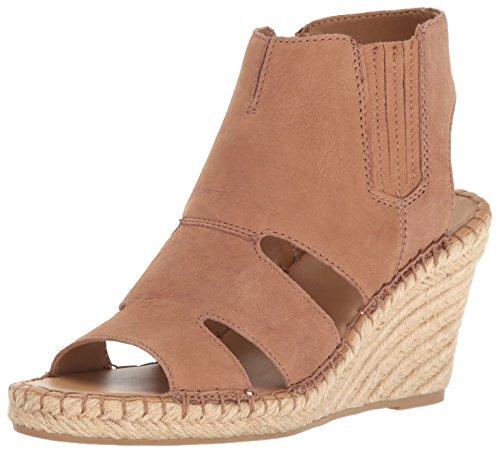 Franco Sarto Women L-Nola Espadrille Wedge Sandal Sand