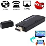 Yuntab CX-A3S TV Dongle Android con bluetooth DLNA+Miracast+Airplay Wifi Display Receiver HDMI Output TV Dongle for Smart Phone Laptop Window PC Football Match
